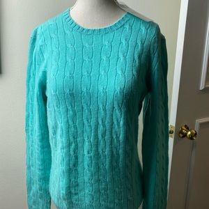 New !! Ralph Lauren cashmere sweater L with tags